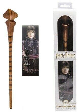Baguette plastique Harry Potter Noble Collect marque-page Nymphadora Tonks