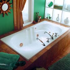 NEPTUNE HELENA MODERN 66x34 SQUARE BATHTUB SOAKER (NO WHIRLPOOL)