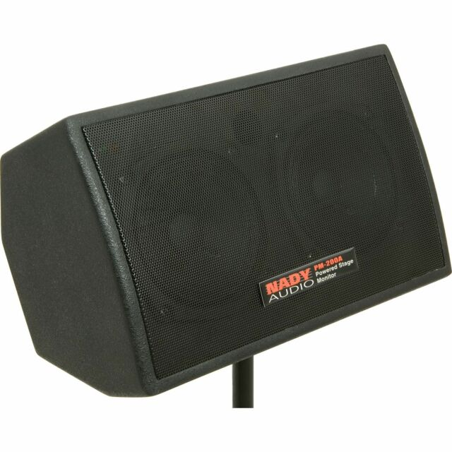 Nady PM-200A Powered Personal 150-Watt RMS Stage Monitor Active Speaker PM200A