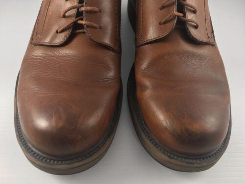 lederen 11n5 neus ronde 5 jurk bruin 10 schoenen United derby Bas Men Us O8vwmNn0