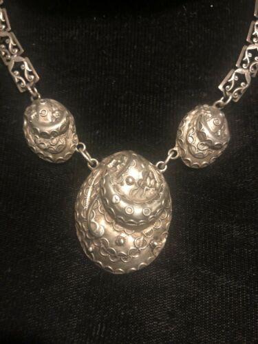 Rare Danecraft Sterling Silver Art Deco Octopus Ne