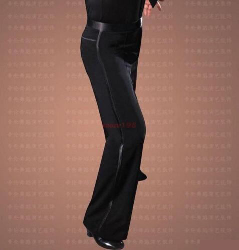 new Mens Ballroom Latin Modern Dance Loose Jazziness Stage Dress Samba Pants