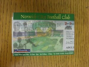 22-02-2002-Ticket-Norwich-City-v-Preston-North-End-Thanks-for-viewing-our-it
