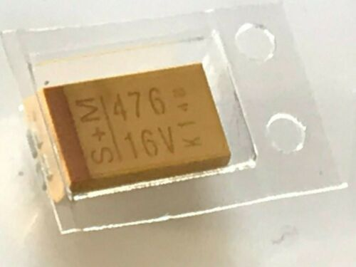 fbb30a1 47UF 16V D caso de montaje en superficie tantalio condensadores baja ESR x5