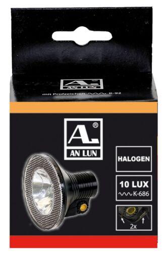 Fahrrad Halogen Scheinwerfer Vorderlicht Beleuchtung 10 Lux