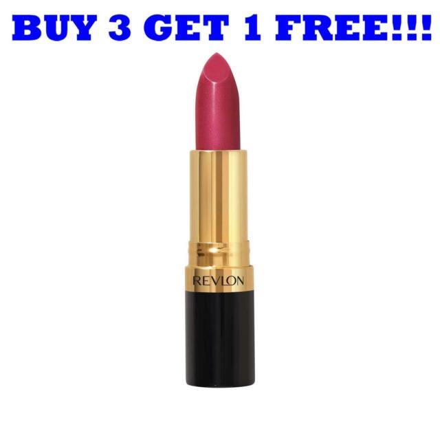 Revlon Lipstick Super Lustrous 3.7g Rich Girl Red 830