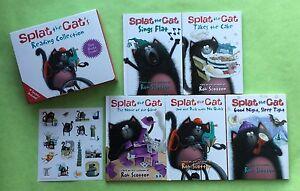 lot of 8 Splat the Cat hardback and PB books secret agent $2 a book FREE SHIP