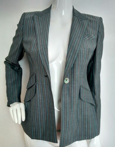 Blend used Once 10 Size Millen Jacket Virgin Wool Karen Jacket Designer Blazer OxSqSPw