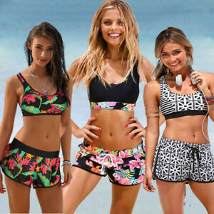 213d584e64d5 Detalles de Bikini para mujer Conjunto de trajes de baño Ropa de playa  Traje de baño