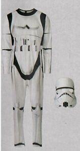 Star-Wars-Storm-Trooper-Gr-M-48-50-2-teilig-Fasching-Karneval-Verkleidet
