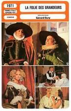 FICHE CINEMA : LA FOLIE DES GRANDEURS - De Funès,Montand,Oury 1971