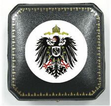 German Prussian Reich Eagle Royal Silver Coin Mark Thaler Case Medal Case Box G