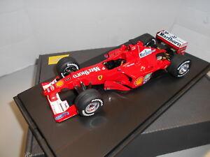 Tmb002 Ferrari F1 G.p.   Malaisie 2000 # 3 Assemblé en tant qu'artisan 1:24