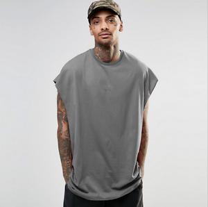 2018 Style Men S Sleeveless T Shirt High Street Casual