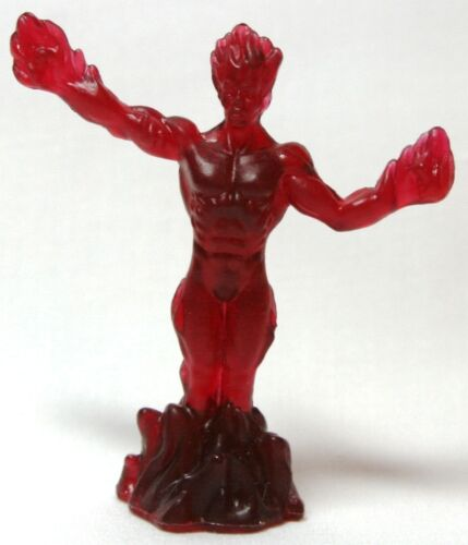 Ufoes X-Ray Translucent Dark Red Hasbro Marvel Handful of Heroes Wave 1