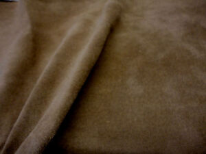 Brown-Velvet-soft-Suede-leather-0-5mm-17-034-x-8-034-FN015