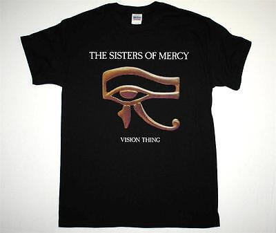 THE SISTERS OF MERCY VISION THING GOTHIC ROCK ANDREW ELDRITCH NEW BLACK T-SHIRT