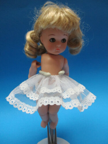 """Muffie and other similar 8/"""" Dolls 2/"""" long 3/"""" w Slip Crinoline for Vogue Ginny"""