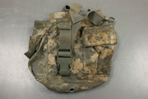 Various 8465-01-525-0585 ACU Molle II 1 Qt Canteen//General Purpose Pouch