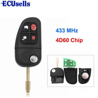 2 For 2001 2002 2003 XJ Keyless Entry Remote Car Key Fob