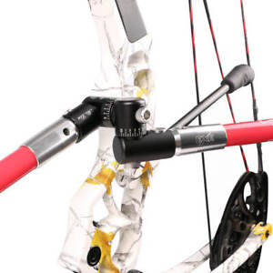 Bow-Stabilizer-Single-Adjustable-V-Bar-Mount-Quick-Disconnect-Archery-Bow-Parts