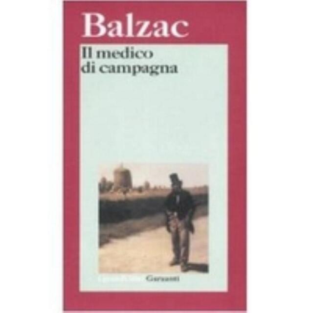 Il medico di campagna, BALZAC, GRANDI LIBRI GARZANTI COD.9788811585343