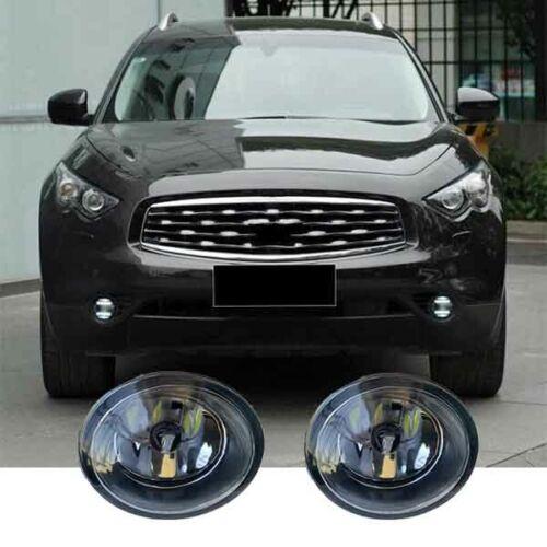 For Infiniti QX70//Q60//Q70//QX50 A Pair Driving Fog Light Lamp j H11 36W LED Bulb