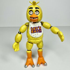 """Funko Five Nights at Freddy's Articulated Chica 5"""" Action Figure FNAF BAF"""