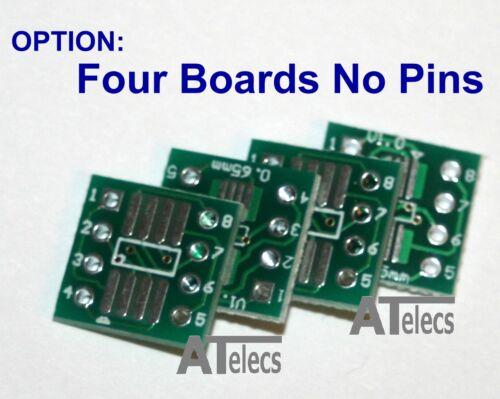 UK Stock SOP8 SOIC8 SSOP8 TSSOP8 to DIP Adapter Prototyping Board SMD