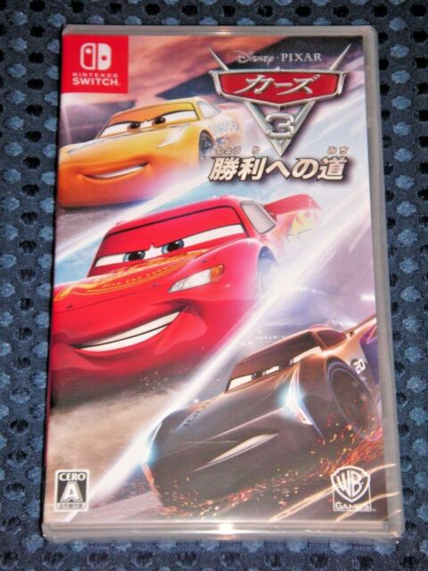 Nintendo Switch Cars 3 Way to Victory Japan Game77