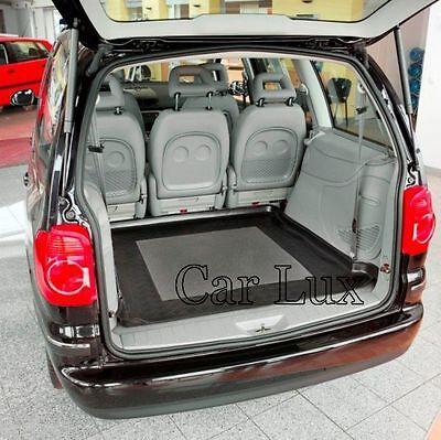 con antideslizante Bandeja Funda Cubeta maletero para VW SHARAN desde 2010