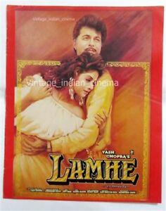 Lamhe-1991-Anil-Kapoor-Sridevi-PressBook-Vintage-Bollywood-Booklet