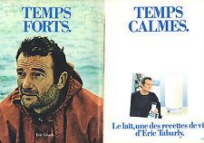 PUBLICITE ADVERTISING 124  1981  ERIC TABARLY  le lait, recettes de la vie ( 2p)