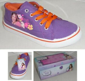 sports shoes e5d28 00763 Dettagli su VIOLETTA Sneakers Basse SCARPE IN TELA VIOLA Originali DISNEY  Sneaker Violeta