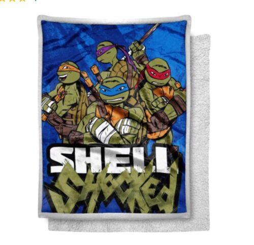 Teenage Mutant Ninja Turtle Fleece Blanket READY to SHIP ChildMedium