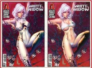 White Widow #3 Bones Lenticular Cover by Mike Debalfo 28 pages