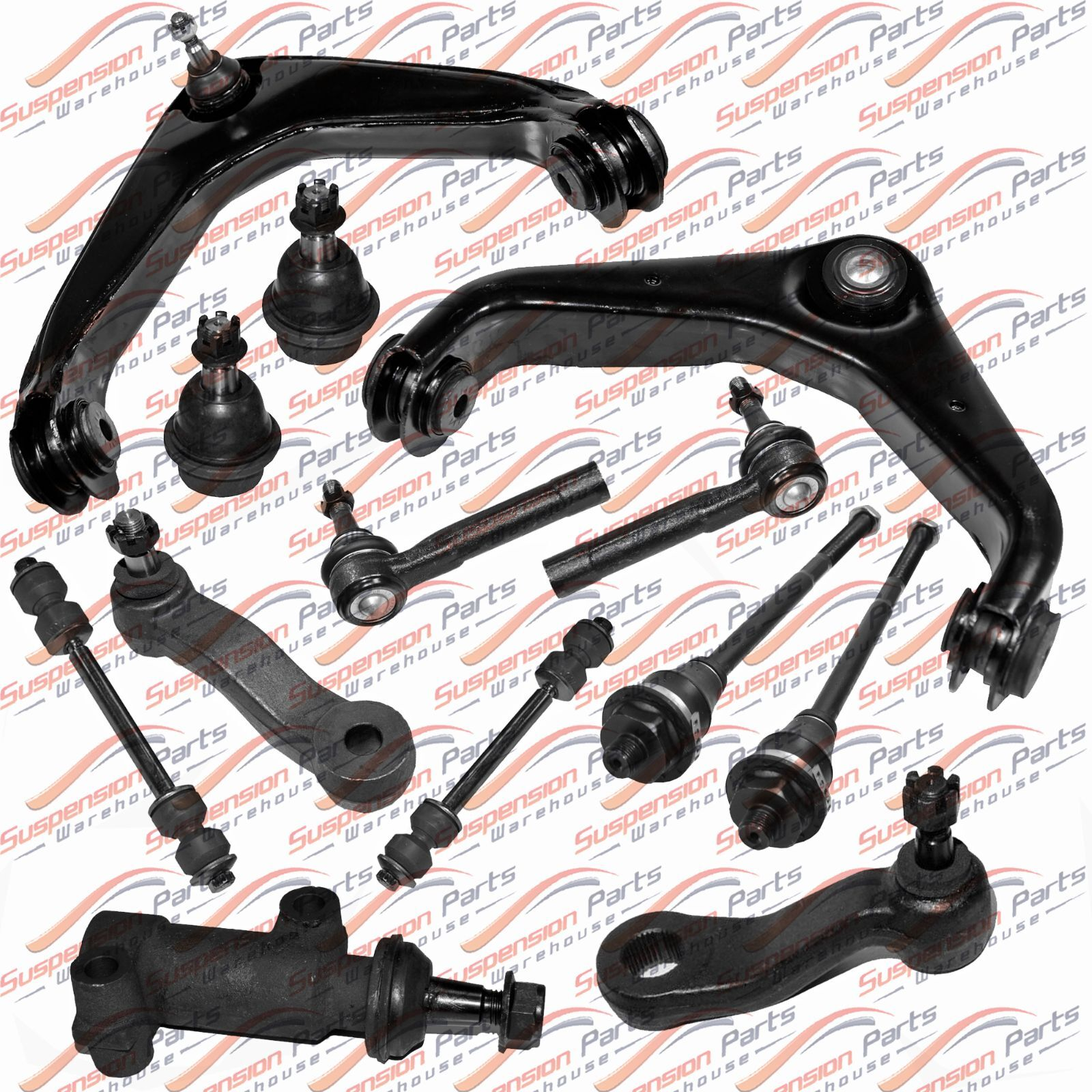 New For 2001-2010 Chevrolet Silverado 2500 HD Suspension Kit GMC Sierra 2500 HD | eBay