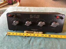 Vintage Tube General Radio Gr Decade Voltage Divider 1454 A 230v Max R 10k