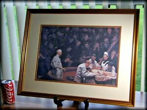 Thomas-Eakins-Scientific-Realism-Framed-25X19-Art-Repro-Agnew-Clinic-Mastectomy