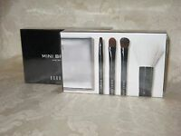 Bobbi Brown Mini Brush Set: Brush Case. Mini Face Blender, Cream/eye Shadowbrush