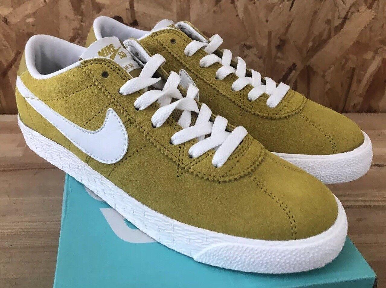 Nike Bruin SB Premium SE Peat Moss Ivory Sz 6 NIB 631041-311
