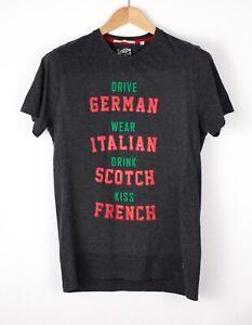 Scotch & Soda Hommes Décontracté Haut T-Shirt Taille L AOZ115