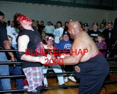 Madman Pondo Vs Abdullah The Butcher Wrestler 8 X 10 Wrestling Photo Ebay