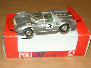 Intelligent Policar A82 Ferrari Dino Pininfarina Polistil Aps Slot Model Car Scala 1/32 Performance Fiable