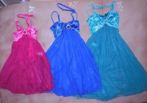 NWT Velvet camisole lyrical ballet costume 4 colors girls//ladies chiffon skirt