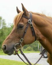 Abetta Draft Horse Nylon Headstall Draft Horse Black