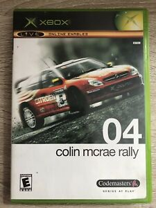 Colin-Mcrae-Rally-04-Microsoft-Xbox-Box-amp-Game-No-Manual