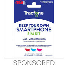 Tracfone Keep Your Own Phone 3-in-1 Prepaid SIM Card Kit - Mini Pack