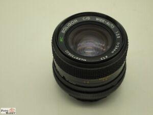 Canon FD Weitwinkel-Objektiv Soligor 2,8/24 mm (52mm) lens Macro 1:4 für A1, AE1