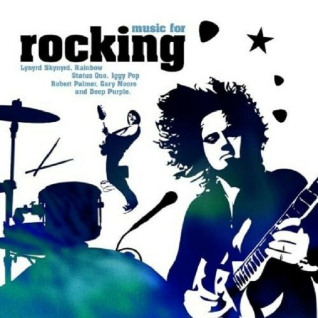 MUSIC FOR ROCKING  CD NEU - JOE WALSH, RAINBOW, UGLY KID JOE, GARY MOORE